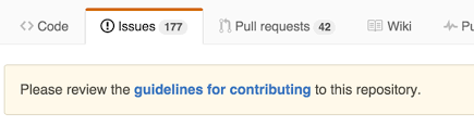 Contributing.md file