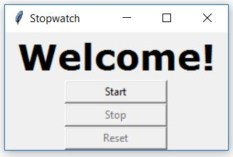 Create a stopwatch using python - GeeksforGeeks