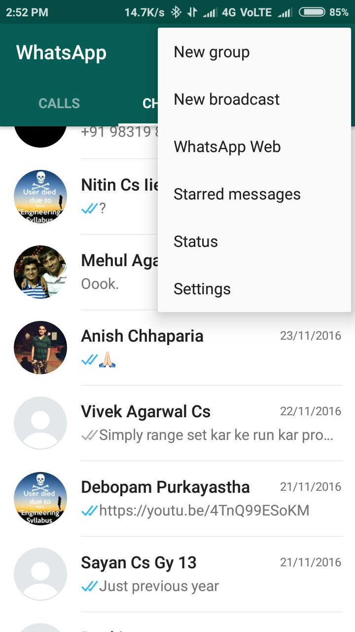 Whatsapp using Python!