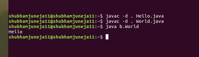 Overriding methods from different packages in Java