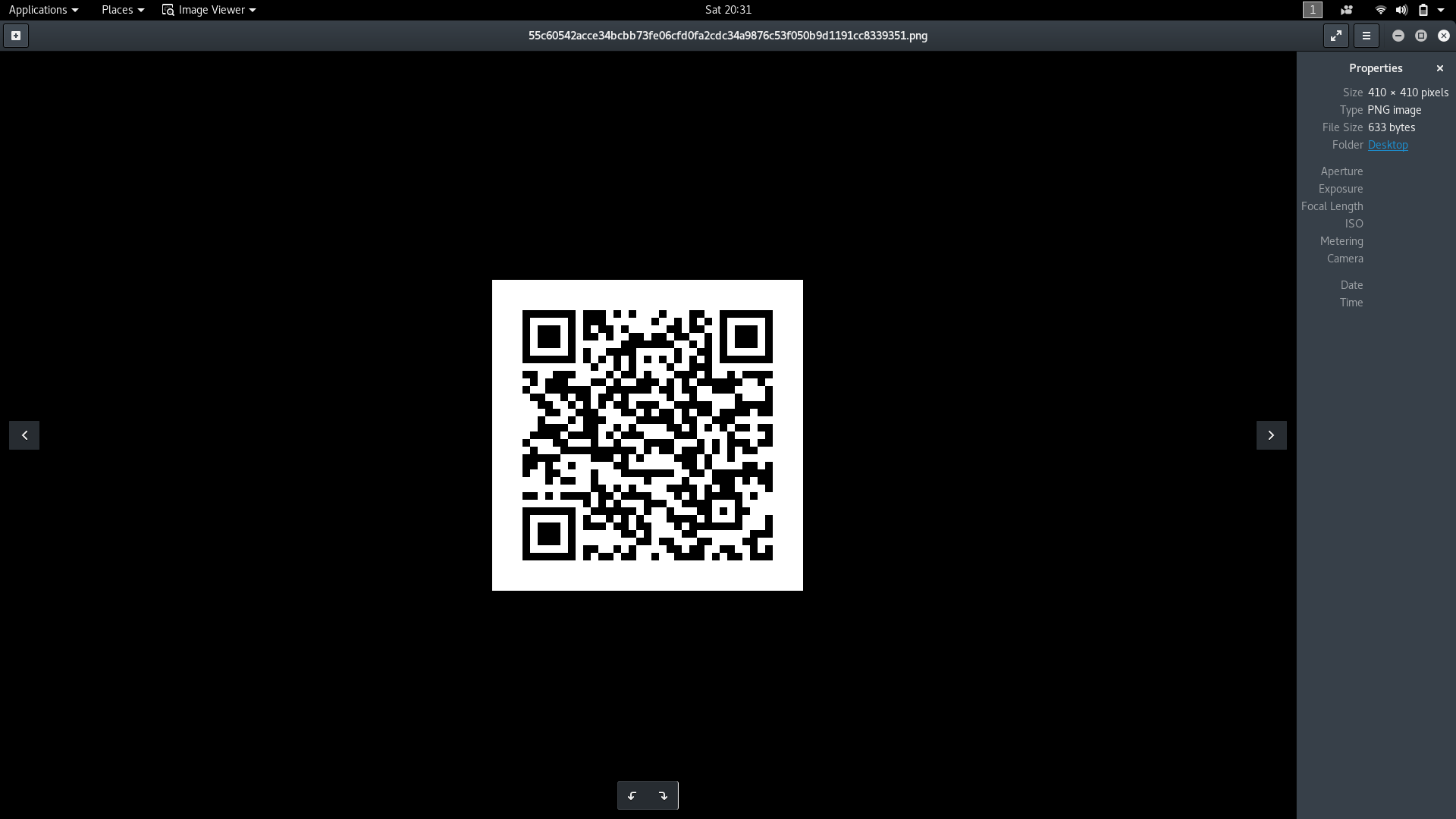 Reading and Generating QR codes in Python using QRtools