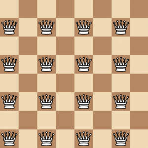 Puzzle | Maximum number of Kings on Chessboard without under check