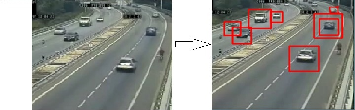 OpenCV Python program for Vehicle detection in a Video frame